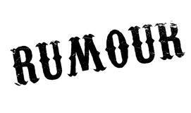 Rumour rubber stamp Stock Photography