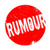 Rumour rubber stamp Stock Photo