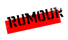 Rumour rubber stamp Stock Images
