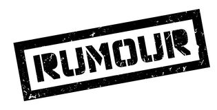 Rumour rubber stamp Royalty Free Stock Images