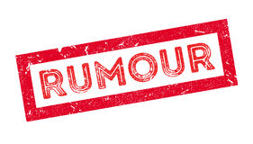 Rumour rubber stamp Royalty Free Stock Image