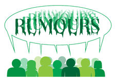 Rumours People Royalty Free Stock Photos