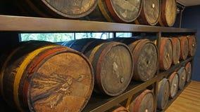 Rumowa fabryka zdjęcie royalty free
