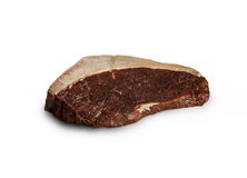 Beef steak. Raw meat. Stock Images
