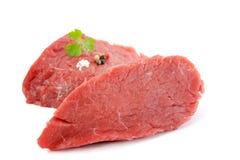 Rump steak. Raw and fresh Royalty Free Stock Image