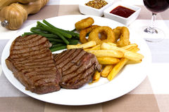 Rump steak Stock Photography