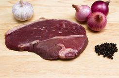Rump steak Royalty Free Stock Photo