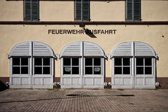 Rumpenheim Firestation Royalty Free Stock Photos
