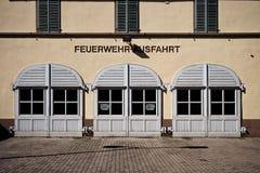 Rumpenheim Firestation Lizenzfreie Stockfotos