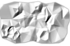 rumpled бумага Стоковые Фотографии RF