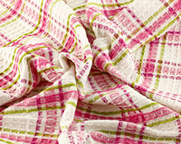 Rumpled dishcloth Stock Photo
