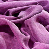 Rumpled fabric Royalty Free Stock Image