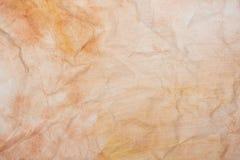 Сrumpled grungepapper som bakgrund Fotografering för Bildbyråer