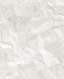 Rumpled paper seamless texture Royalty Free Stock Image