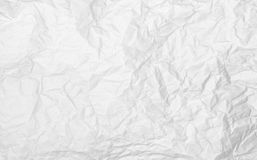Rumpled paper texture Stock Images