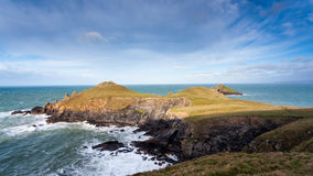 Rumps Point Cornwall Royalty Free Stock Photo