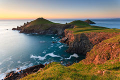 Rumps Point Cornwall. Rumps Point, North Cornwall, England UK Royalty Free Stock Images
