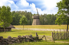 Rumsiskes open-air museum, Lithuania Royalty Free Stock Image