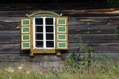 rumsiskesfönster royaltyfria foton