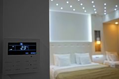 Rumstemperatur Fotografering för Bildbyråer