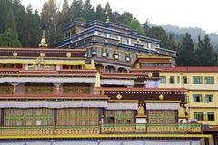 Rumtek修道院,锡金,印度 库存照片