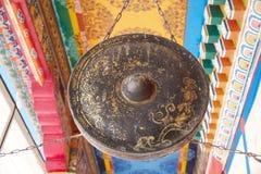 Rumtek修道院,锡金,印度 库存图片