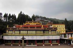 Rumtek Gompa en Sikkim, la India fotos de archivo