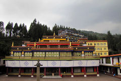 Rumtek Gompa in Sikkim, Indien Stockfotos