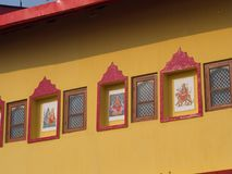 Rumtek kloster nära Gangtok Sikkim Indien, 2013 April 14th Royaltyfria Bilder