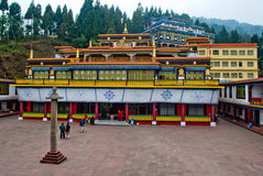 Rumtek Monastery royalty free stock photography