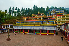 Rumtek Monastery. Also called the Dharmachakra Centre, is a gompa located in the Indian state of Sikkim near the capital Gangtok served as the main seat of the Stock Photos
