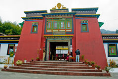Rumtek Monastery Gate. Rumtek Monastery also called the Dharmachakra Centre, is a gompa located in the Indian state of Sikkim near the capital Gangtok served as Royalty Free Stock Images