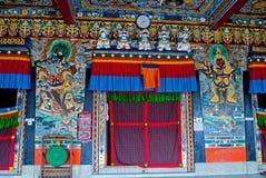 Rumtek Monastery Interior Stock Photography