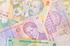 Rumuńscy banknoty zdjęcie royalty free