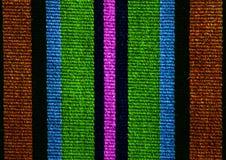 Rumuńscy ludowi bezszwowi wzorów ornamenty Rumuńska tradycyjna broderia Tekstura etniczny projekt Tradycyjny dywanowy projekt Car zdjęcie royalty free