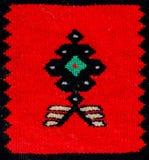 Rumuńscy ludowi bezszwowi wzorów ornamenty Rumuńska tradycyjna broderia Tekstura etniczny projekt Tradycyjny dywanowy projekt Obraz Stock