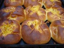 Rumuńscy tradycyjni serowi kulebiaki Obraz Royalty Free