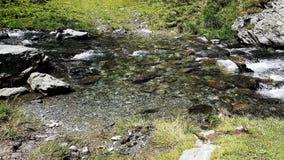 Rumuńska mała rzeka Zdjęcia Royalty Free