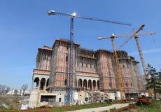 Rumuńska People's salwowania katedra Zdjęcie Royalty Free