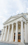 Rumuński Athenaeum od Bucharest, Rumunia Obraz Stock