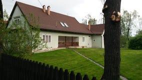 Rumuński dom zdjęcia stock