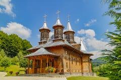 Rumuński Drewniany kościół zdjęcie royalty free