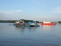 Rumuński ferryboat Obraz Royalty Free