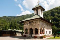 Rumuński ortodoksyjny Monaster Lainici zdjęcie royalty free