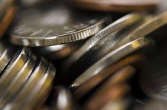 Rumuńskie monety Obrazy Stock