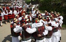 Rumuńskie tradycje zdjęcia stock