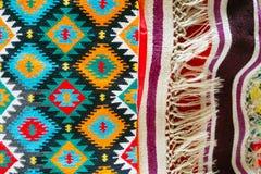 Rumuńscy ludowi bezszwowi wzorów ornamenty Fotografia Stock