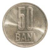 Rumuńska bani moneta Fotografia Royalty Free