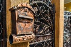 Rumuńska skrzynka pocztowa fotografia royalty free