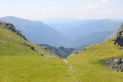 Rumuński krajobraz Zdjęcie Royalty Free